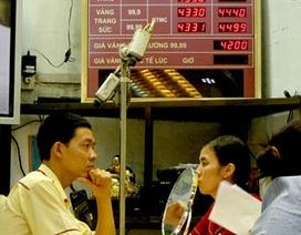 Giá vàng tiếp tục rút ngắn chênh lệch