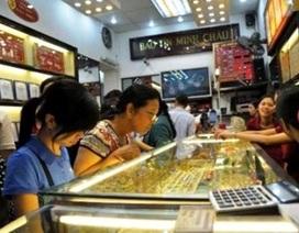 Vàng tăng nhẹ, đắt hơn thế giới 4,2 triệu đồng/lượng
