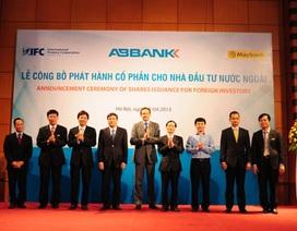 ABBank chính thức bán 30% cổ phần cho đối tác ngoại