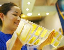 Giá vàng giảm mạnh chiều mua vào