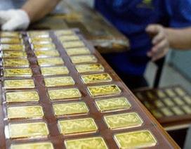 Giá vàng giảm chiều mua, tăng chiều bán