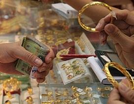 Giá vàng bật tăng trở lại