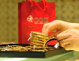 Giá vàng lại chạm ngưỡng thấp nhất trong 3 năm