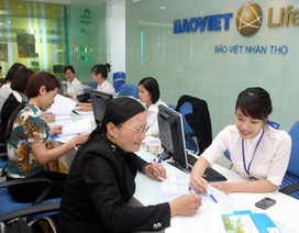 Bảo Việt Nhân thọ dẫn đầu thị trường bảo hiểm nhân thọ về quy mô vốn