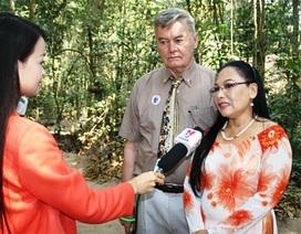 Nhà báo Việt kiều Mỹ muốn dành phần còn lại cuộc đời cho quê hương