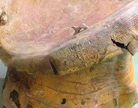 Thanh Hóa: Phát hiện trống đồng cổ khi đào ao