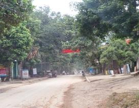 Rung lắc mạnh tại huyện Quan Sơn