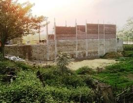 Thanh Hóa:  Chính quyền bán đất cho dân xây nhà trong hành lang thoát lũ