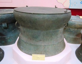 Những chiếc trống đồng hàng nghìn năm tuổi