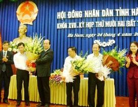 Hà Nam bầu bổ sung 2 Phó Chủ tịch UBND tỉnh