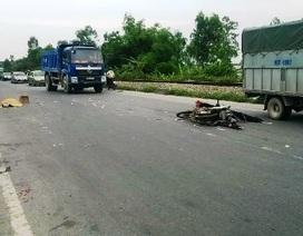 Bị xe tải húc bay 20m, người đàn ông tử vong tại chỗ