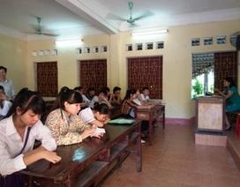 Hàng ngàn thí sinh không đến làm thủ tục dự thi THPT quốc gia