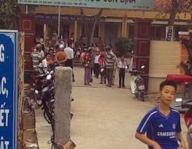 Cổng trường đổ đè chết một học sinh lớp 3