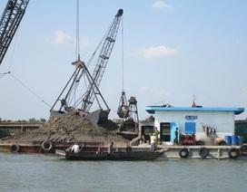Xử phạt 110 triệu đồng 3 phương tiện khai thác cát trái phép