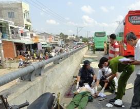 Vụ tai nạn làm chết 4 người ở Trà Vinh: Do 2 xe khách giành đường