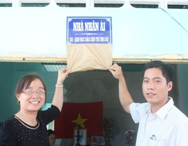 Khánh thành nhà Nhân ái do bạn đọc báo Dân trí giúp chị Trần Thị Mỹ Hạnh