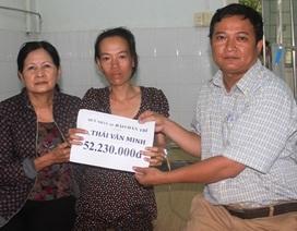 Hơn 52 triệu đồng đến với gia đình có 2 cha con mắc bệnh tim hiểm nghèo