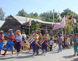 Độc đáo lễ đón năm mới của đồng bào Khmer