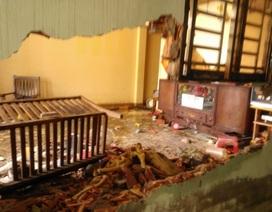 Phản đối cưỡng chế nhà, hai cha con chém 6 người bị thương