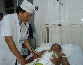 Cứu sống bệnh nhân bị phình vỡ động mạch chủ bụng