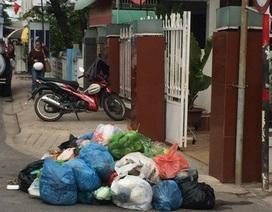 Vụ người dân chặn xe rác: Thành phố Cần Thơ ùn ứ rác thải