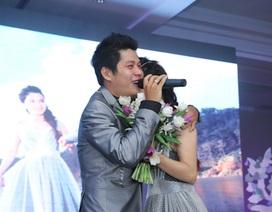 Nguyễn Văn Chung rơi lệ trong đám cưới
