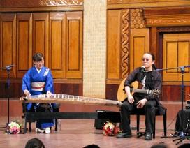 Ấn tượng với màn trình diễn của hai nghệ sĩ Nhật Bản