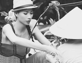 Ấn tượng Trang Trần trong bộ ảnh đen trắng