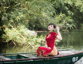 Vẻ phúc hậu của Hoa hậu các dân tộc Việt Nam Triệu Thị Hà