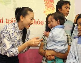 Ngô Thanh Vân miệt mài vì các em nhỏ bệnh tim