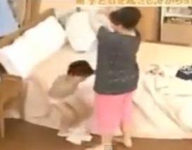 Hài hước clip mẹ Nhật chuẩn bị cho con đi học trong 4 phút