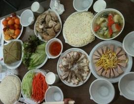 Bữa cơm chiều cuối năm