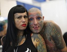 Lễ hội xăm hình ấn tượng ở Brazil