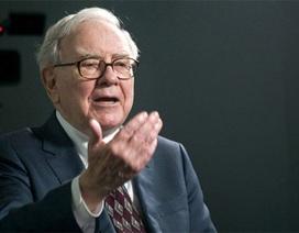 Tỷ phú Buffett suýt vuột mất ngôi vị giàu thứ ba thế giới