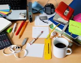 Những thứ không nên xuất hiện trên bàn làm việc ở cơ quan
