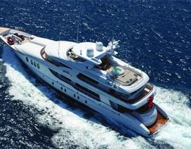 """Ngắm vẻ """"long lanh"""" của du thuyền giá 630 tỷ đồng"""