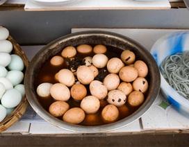 Trung Quốc: Sau gạo, thịt,.. đến lượt trứng bắc thảo nhiễm độc