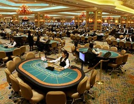 Sòng bạc Macau thu hơn 45 tỷ USD trong 1 năm
