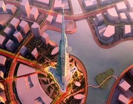 Diện mạo tòa tháp cao nhất thế giới sắp được xây ở Ả-rập