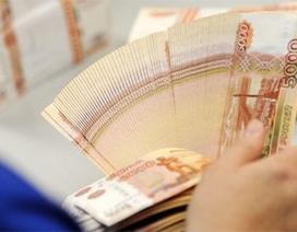 Đồng rúp rớt giá thảm vì căng thẳng Ukraine
