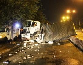 Vụ xe container tông chết CSGT: Bắt giam tài xế