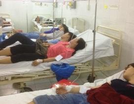 Khoảng 100 công nhân nhập viện sau bữa ăn tăng ca chiều
