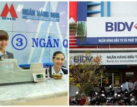 Sáp nhập MHB, cổ phiếu BIDV đổi ngang giá