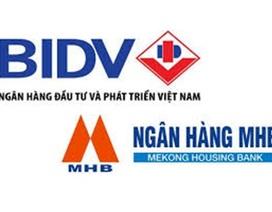 Xoá bỏ tên MHB sau khi sáp nhập vào BIDV