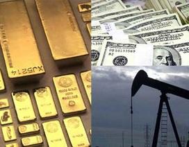 Vàng giảm giá, USD ổn định trên mức 21.700 VND