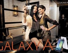 Samsung bất ngờ trình làng dòng smartphone Galaxy A khung kim loại