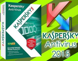 Bản quyền miễn phí phần mềm diệt virus Kaspersky Antivirus 2015