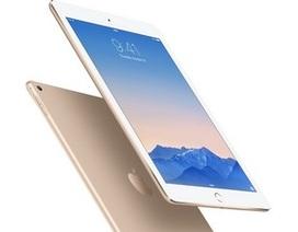 iPad Air 2 sử dụng bộ vi xử lý 3 lõi và bộ nhớ RAM 2GB