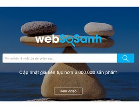 Trang web tìm kiếm và so sánh giá sản phẩm tại Việt Nam