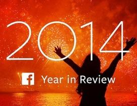 """10 chủ đề """"nóng"""" nhất trên Facebook trong năm 2014"""